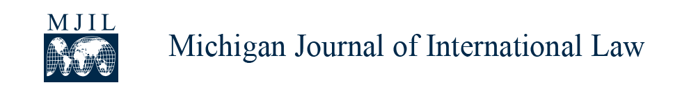 Michigan Journal of International Law