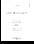Cases on the Law of Damages by Floyd R. Mechem