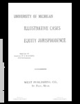 Cases on Equity Jurisprudence