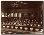 Classroom in first Law Building c. 1888 by University of Michigan Law School