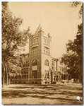 A view of the Tower, 1893 - 1898 by University of Michigan Law School