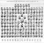 University of Michigan Law School Class of 1875