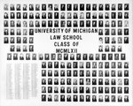 University of Michigan Law School Class of 1962