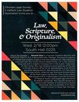 Law, Scripture & Originalism