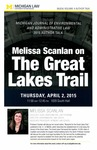 Melissa Scanlan on The Great Lakes Trail