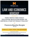 """Does """"Notice and Choice"""" Disclosure Regulation Work? An Empirical Study of Privacy Policies"""