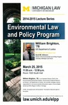 Environmental Law and Policy Program
