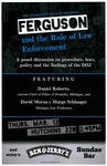 Ferguson and the Role of Law Enforcement