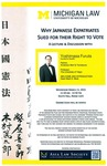 Why Japanese Expatriates Sued for their Right to Vote