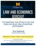 Estimating the Effects of the English Rule on Litigation Outcomes