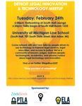 Detroit Legal Innovation & Technology Meetup