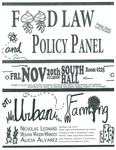 Food Law and Policy Panel on Urban Farming