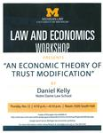 An Economic Theory of Trust Modification