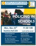 Policing in Schools