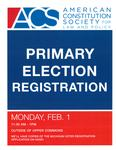 Primary Election Registration