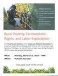 Rural Poverty, Farmworkers' Rights, and Labor Exploitation