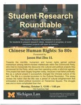 Chinese Human Rights: So 80s