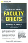 Faculty Briefs