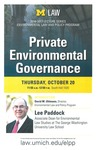 Private Environmental Governance