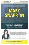 Mary Snapp, '84