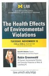 The Health Effects of Environmental Violations
