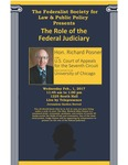 The Role of the Federal Judiciary by University of Michigan Law School