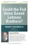 Could the Fed Have Saved Lehman Brothers?