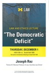"""The Democratic Deficit"""
