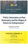 """Public Information on Past Bankruptcy and the Stigma of Failure for Entrepreneurs"""