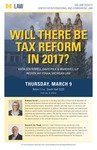 Will There Be Tax Reform in 2017?