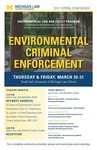 Environmental Criminal Enforcement