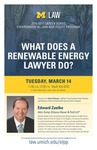 What Does a Renewable Energy Lawyer Do?