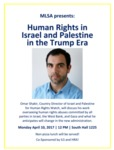 Human Rights in Israel and Palestine in the Trump Era