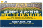 Attention 1LS: Join Us For Meet the Employers