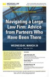 Navigating a Large Law Firm: Advice from Partners Who Have Been There