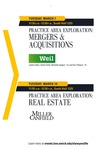 Practice Area Exploration: Mergers and Acquisitions & Practice Area Exploration: Real Estate