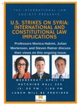 U.S. Strikes on Syria: International and Constitutional Law Implications