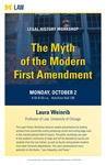 The Myth of the Modern First Amendment