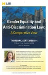 Gender Equality and Anti-Discrimination Law: A Comparative View