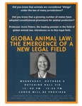Global Animal Law: The Emergence of a New Legal Field