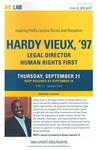 Hardy Vieux, '97 by University of Michigan Law School