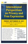 International Perspectives on Privacy and Free Expression