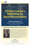 A Pastor-Lawyer's Reflections on Racial Reconciliation