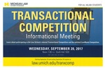 Transactional Competition Informational Meeting