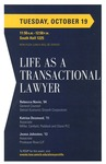Life as a Transactional Lawyer