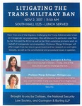 Litigating the Trans Military Ban