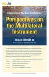 Perspectives on the Multilateral Instrument