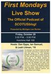 First Mondays Live Show