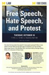 Free Speech, Hate Speech, and Protest