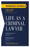 Life as a Criminal Lawyer